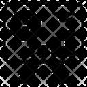 Crypto Analytics Bitcoin Statistics Market Research Icon