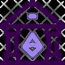 Crypto Bank Icon