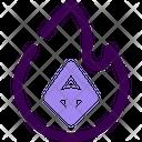 Crypto Burn Icon
