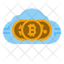 Crypto Cloud Icon