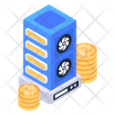 Crypto Datacenter Icon