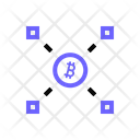 Crypto Exchange Ethereum Financial Icon
