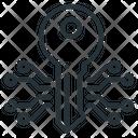 Crypto Key Icon