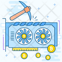 Crypto Mining Farm Icon