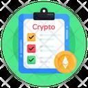 Todo List Crypto Report Ethereum Report Icon