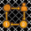 Crypto Structure Blockchain Blocks Icon