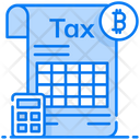 Crypto Tax Bitcoin Tax Tax Regulation Icon