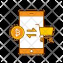 Crypto Transfer Online Transfer Money Transfer Icon