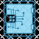 Crypto Vault Cyber Icon