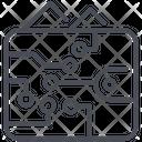 Bitcoin Crypto Wallet Icon