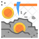 Crypto Currency Mining Icon
