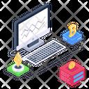 Cryptocurrencies Icon