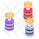 Cryptocurrencies Storage Icon
