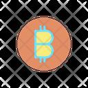 Bitcoin Cryptocurrency Digital Money Icon