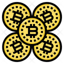 Cryptocurrency Bitcoin Digital Icon