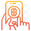 Cryptocurrency Bitcoin Investment Icon