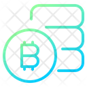Cryptocurrency Bitcoin Blockchain Icon
