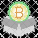 Cryptocurrency Bitcoin Blockchain Icon
