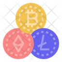 Cryptocurrency Digital Asset Digital Money Icon