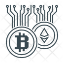 Cryptocurrency Currency Money Icon