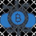 Cryptocurrency Bitcoin Btc Icon