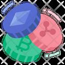 Cryptocurrency Digital Token Crypto Icon