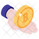 Cryptocurrency Care Bitcoin Safety Cryptocurrency Icon