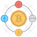 Cryptocurrency Chain Icon