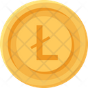 Lite Coin Cryptocurrency Coin Business Icon