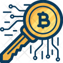 Key Blockchain Cryptocurrency Icon