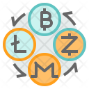 Cryptocurrency Exchange Icon
