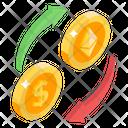 Money Conversion Foreign Exchange Money Exchange Icon