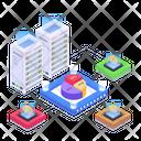 Cryptocurrency Exchange Platform Bitcoin Exchange Blockchain Technology Icon