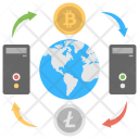 Cryptocurrency Exchanger Icon