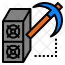 Cryptocurrency Miner Icon