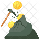 Cryptocurrency Mining Icon