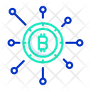 Cryptocurrency Network Icon
