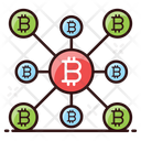 Cryptocurrency Network Bitcoin Cryptocurrency Icon