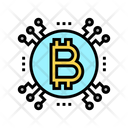 Cryptocurrency Network Cryptocurrency Bitcoin Icon