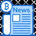 Cryptocurrency News News Media Social Media Icon