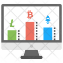 Cryptocurrency Stocks Icon