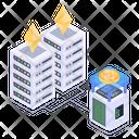 Money Storage Money Data Storage Cryptocurrency Storage Icon