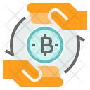 Cryptocurrency Transfer Exchange Icon