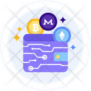 Cryptocurrency wallet Icon