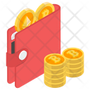 Cryptocurrency Wallet Bitcoin Wallet Savings Icon