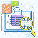 Cryptocurrency Report Online Analytics Data Analytics Icon