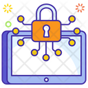 Cryptograph Bitcoin Encryption Data Encryption Icon