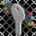 Cryptographic Key Icon
