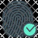 Cryptographic Cryptographic Signature Fingerprint Icon