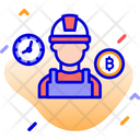 Cryptography Cryptocurrency Bitcoin Icon